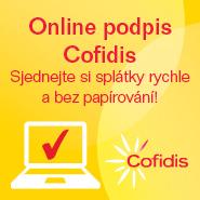 Cofidis online podpis
