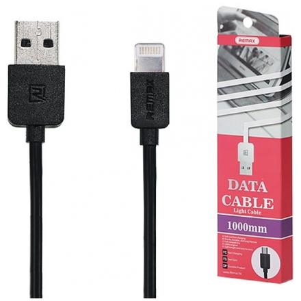 REMAX Kabel USB Light RC-06i 1 metr Lightning černá 45420