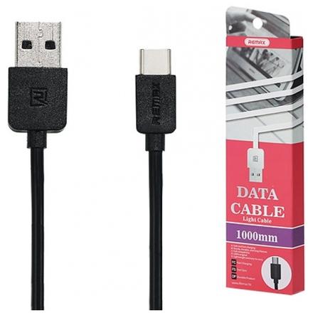 REMAX Kabel USB Light RC-006a 1 metr Micro USB Typ C černá 45424