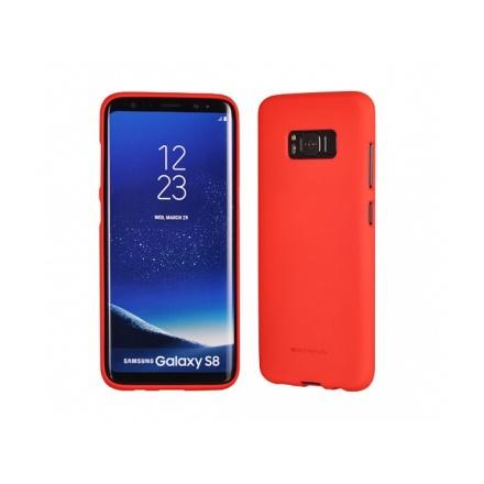 Pouzdro MERCURY SOFT FEELING TPU Samsung G960 GALAXY S9 červená