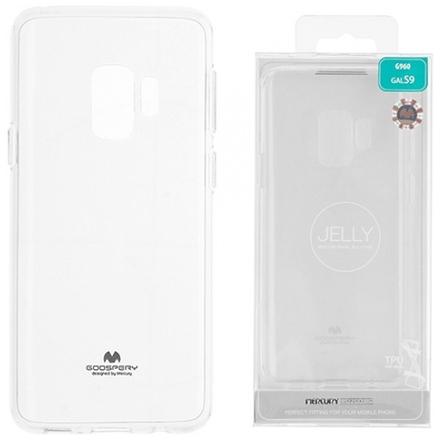 POUZDRO MERCURY JELLY Samsung G960 GALAXY S9 transparentní