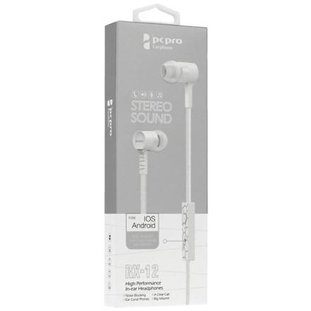 Sluchátka RX-12 bílá 48582