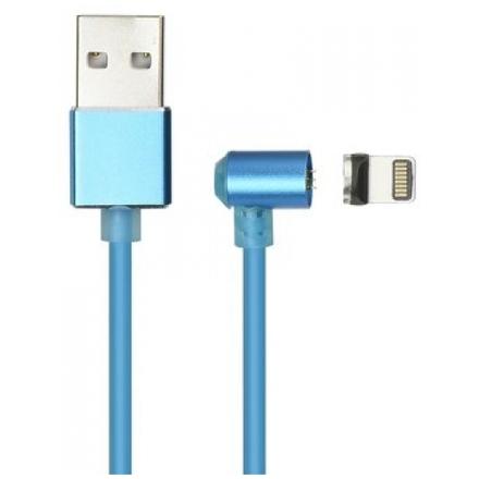 Magnetický kabel Lighting iPhone 5/5S/SE/6/6S/6 Plus/7/7 Plus/iPad/8/8 Plus/X (nabíjení + přenos dat) modrá 59017378