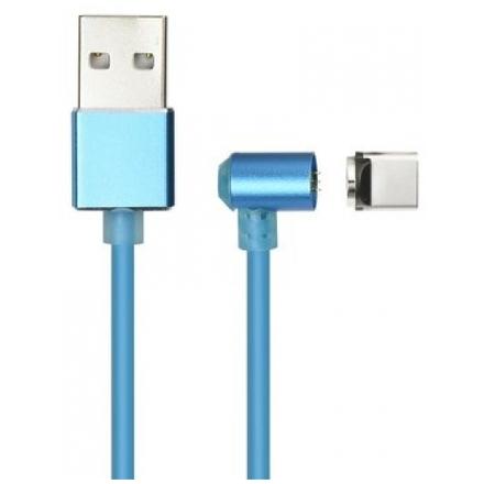 Magnetický kabel Typ C (nabíjení + přenos dat) modrá 59017379
