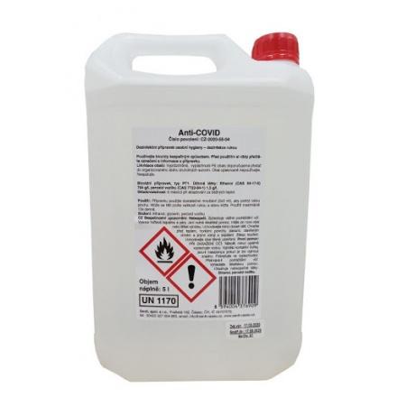 Anti-COVID dezinfekce rukou Zenit 5 l