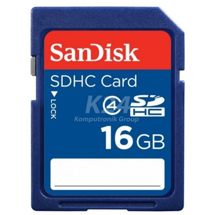 SanDisk SDHC 16GB Class 4, SDSDB-016G-B35