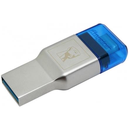 MobileLite DUO 3C USB3.1+Typ C microSDHC/SDXC čtečka Kingston, FCR-ML3C