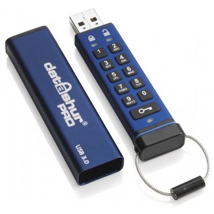 Istorage Flashdisk šifrovaný datAshur Pro USB3 256-bit 64GB, IS-FL-DA3-256-64