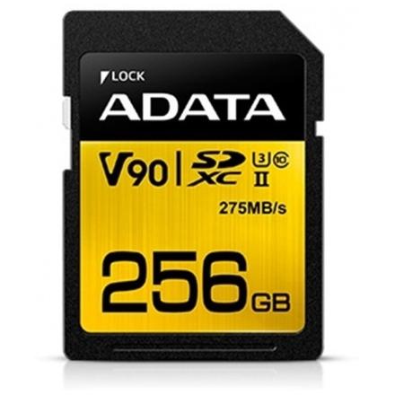 ADATA SDXC 256GB UHS-II U3 (275/155MB), ASDX256GUII3CL10-C