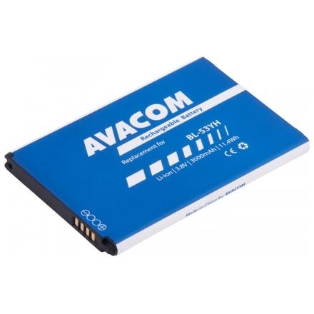 Baterie AVACOM GSLG-D855-3000 do mobilu LG D855 G3 Li-ion 3,8V 3000mAh (náhrada BL-53YH), GSLG-D855-3000