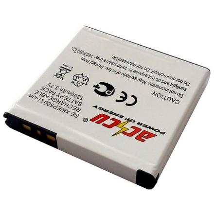Baterie Accu pro Sony Ericsson Xperia X8, Li-ion, 1300mAh, MTSE0026