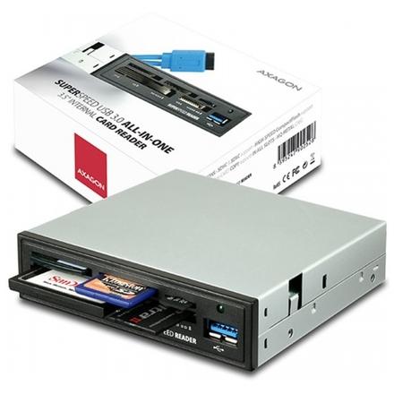 "AXAGON interní 3.5"" USB 3.0 5-slot čtečka ALL-IN-O, CRI-S3"