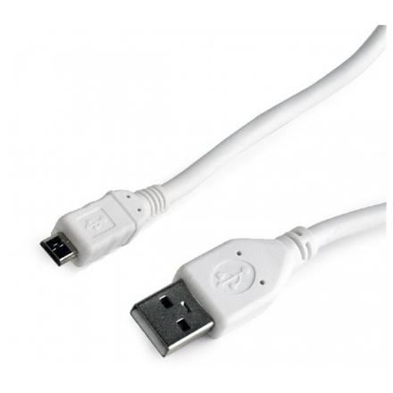 Gembird Kabel USB A-B micro, 0,5m, 2.0, bílý, high quality, CCP-mUSB2-AMBM-W-0.5M
