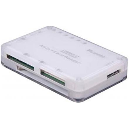 PremiumCord USB 3.0 čtečka všech paměťových karet, ku3cm01