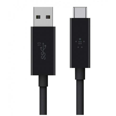 BELKIN kabel USB 3.1 USB-C to USB A 3.1, 1m, černý, F2CU029bt1M-BLK