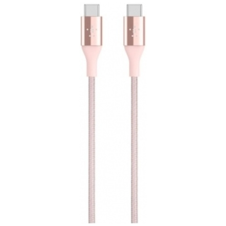BELKIN MIXIT Duratek Premium Kevlar USB-C Cable Rose Gold, F2CU050bt04-C00