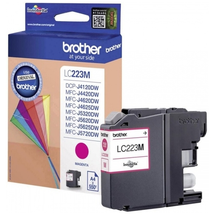 Brother LC-223M (inkoust magenta, 600 str.), LC223M