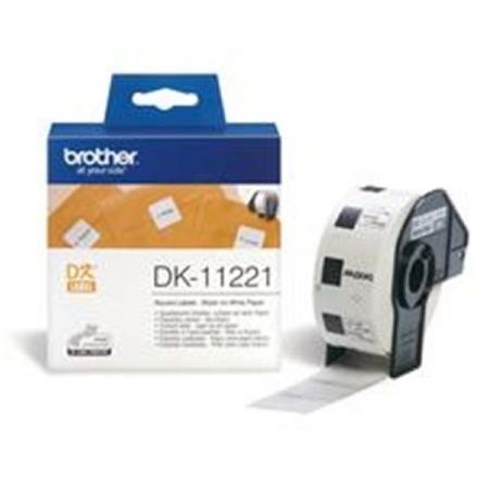 Brother DK-11221 (čtvercové štítky 1000ks), DK11221