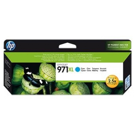 HP 971XL azurová inkoustová kazeta, CN626AE, CN626AE