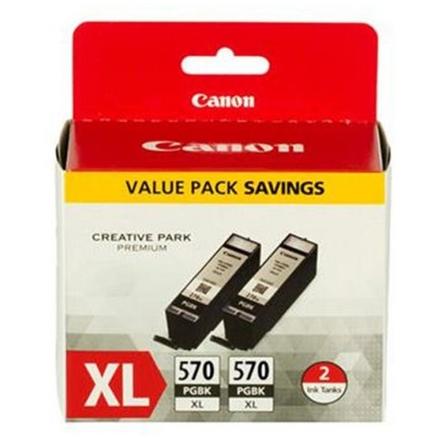 Canon PGI-570XL PGBK, 2-pack černý velký, 0318C007