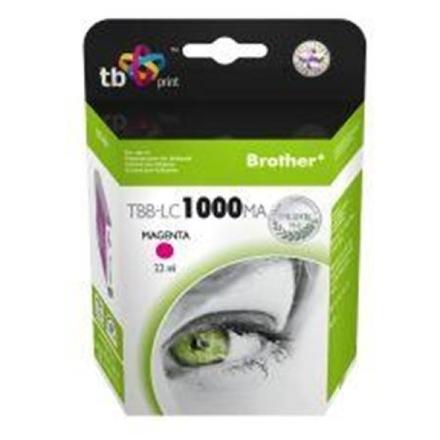 Ink. kazeta TB kompat. s Brother LC1100M 100% N, TBB-LC1100MA