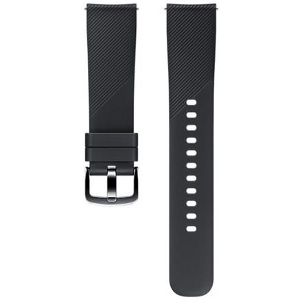Samsung Silikonový řemínek 20mm, Black, ET-YSN60MBEGWW