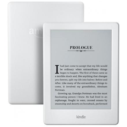 """Amazon Kindle 8 Touch, 6"""" E-ink, wi-fi, sponzorovaná verze, bílá, V7002175824"""