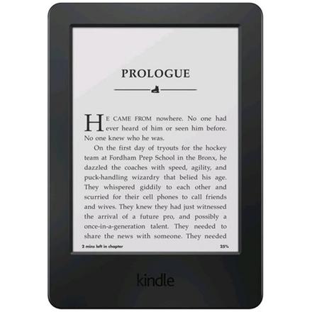 """Amazon Kindle 8 Touch, 6"""" E-ink, wi-fi, sponzorovaná verze, černá, V7002175825"""