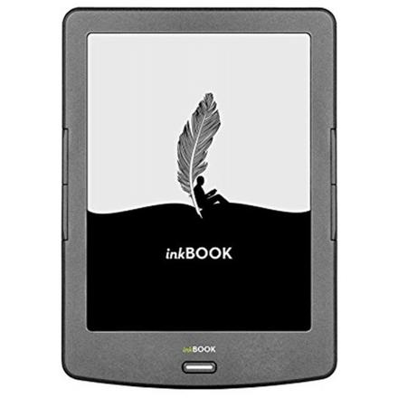 """Čtečka InkBOOK Classic 2 - 6"""", 4GB, 800x600, Wi-Fi, Grey, INKBOOK_CLASSIC_2"""