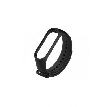 Tactical 513 Silikonový Řemínek pro Xiaomi Mi Band 3/4 Black, 2447620
