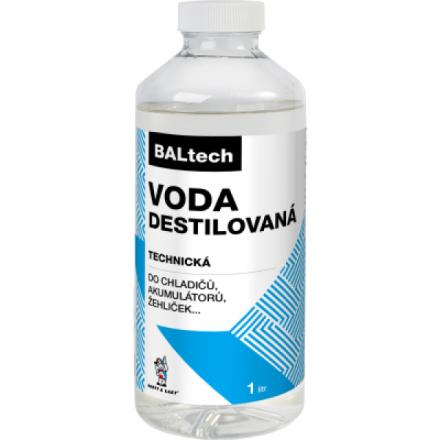 BALtech destilovaná voda, 1 l