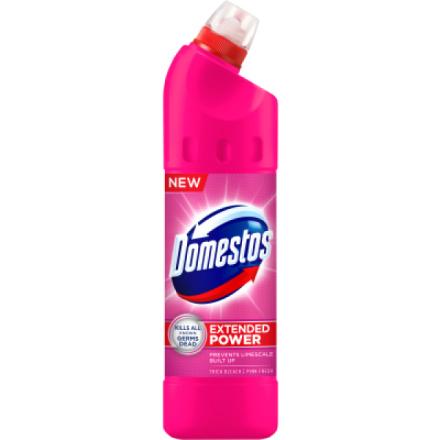 Domestos 24h Pink Fresh, tekutý desinfekční a čisticí prostředek, 750 ml