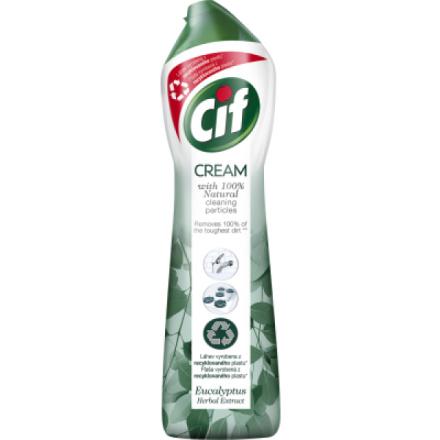 Cif Cream Green tekutý písek čistící prostředek, 500 ml