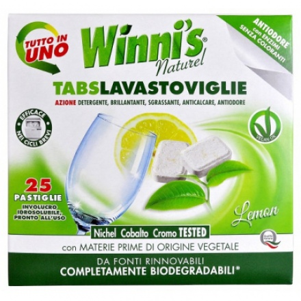 Madel Winnis Lavastoviglie hypoalergenní tablety do myčky, 25 ks