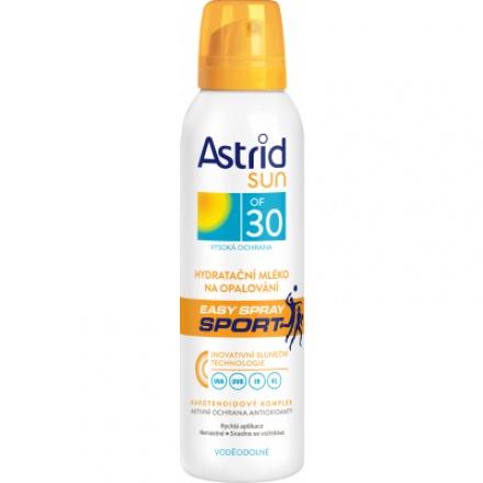 Astrid Sun OF 30 Easy Spray Sport  hydratační mléko na opalování, 150 ml