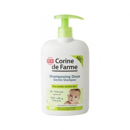 Corine de Farme Baby dětský šampon pro miminka, jemný, 500 ml