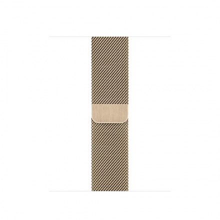 Apple Watch Acc/44/Gold Milanese Loop, MYAP2ZM/A