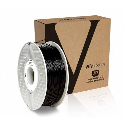 Verbatim PLA struna 1,75 mm, 1kg, černá, 55267