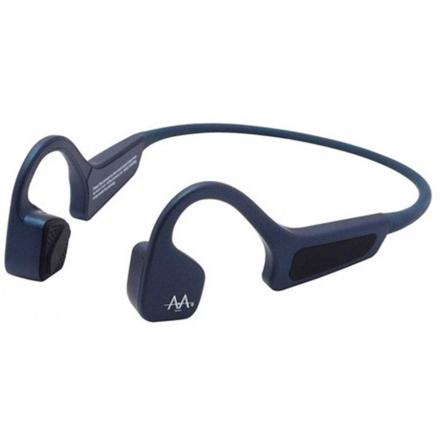 AMA BonELF X, bezdrátová sportovní sluchátka před uši, modrá, ELF_X_BLUE