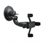 """Univerzální držák do auta na tablet 7-10"""" (2v1 - instalace na přední sklo nebo na opěrku hlavy) (AX-01) černá"""