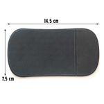 PROTISKLUZOVÁ PODLOŽKA černá 17774 rozměr cca 14,5x7,5cm