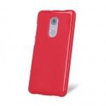 Pouzdro MyPhone TPU silikonové MyPhone Prime Plus Červená