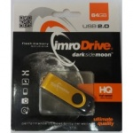 FLASH DISK IMRO 64GB zlatá Axis 27856