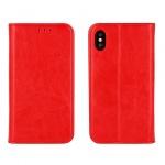 POUZDRO HORIZONTÁLNÍ BOOK SPECIAL IPHONE 5/5S/SE červená (pravá italská kůže)