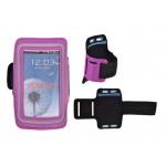 JEKOD SPORTOVNÍ POUZDRO NA RUKU SLIM IPHONE 6 PLUS/Samsung N910 fialová 40003