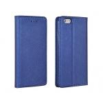Pouzdro Telone SMART Book Magnet pro IPHONE 5 tmavě modrá