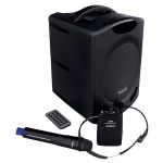WA 400RC řečnický systém s ručním a náhlavním bezdrátovým mikrofonem