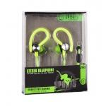Sluchátka Sport JY-A1 zelená 42288