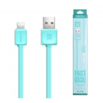 REMAX Kabel USB Fast Data RC-008i Lightning modrá 44590