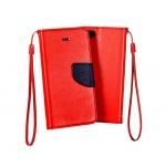 Pouzdro Telone Fancy Xiaomi Redmi 4A červená-modrá